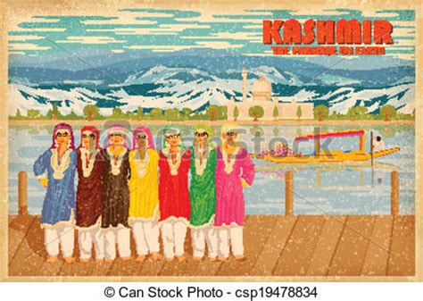 the happy valley sketches of kashmir the kashmiris classic reprint books vectors of culture of kashmir illustration depicting the