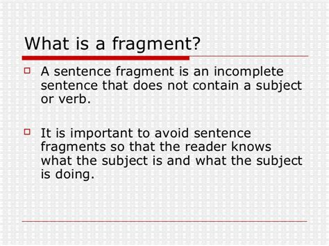 sentence pattern for they named the child prem all worksheets 187 identifying fragments and run on