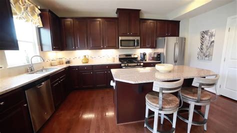 ryan home kitchen design new construction townhomes for sale wexford ryan homes