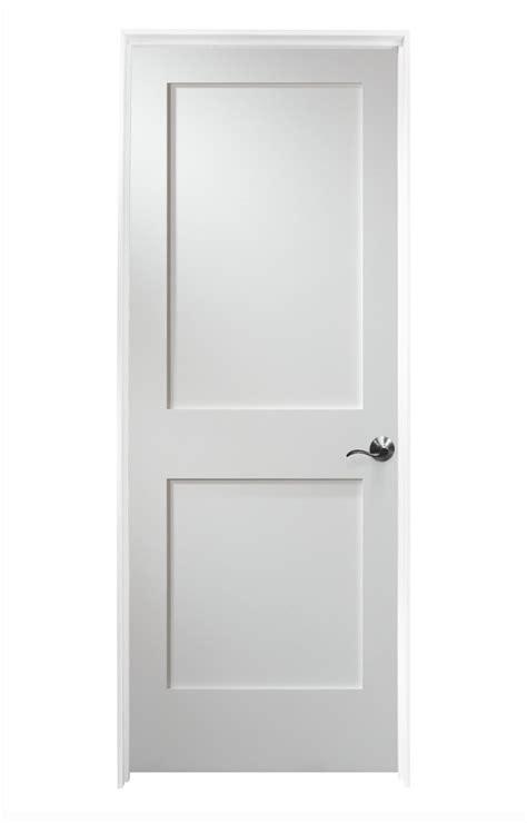 White 2 Panel Interior Doors Woodport Doors Interior Doors Knock Shaker Collection Painted White Mdf 30 Quot Left