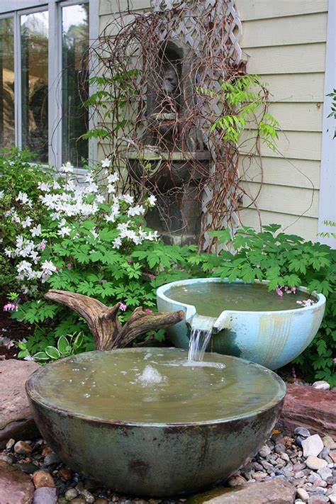 water fountains for backyard water feature ideas for small backyards water fountains