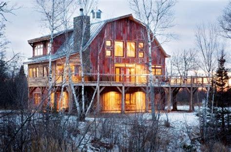 cozy barn homes