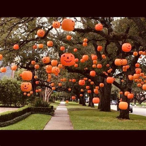 outdoor halloween decorations ideas