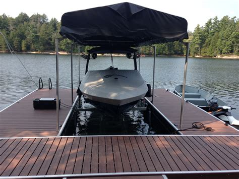 boat r five dock roof systems for boats sea doos r j machine