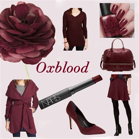 what color is oxblood color crush oxblood the city sea