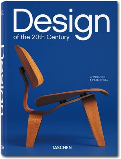 design of the 20th book review taschen s quot design of the 20th century quot core77