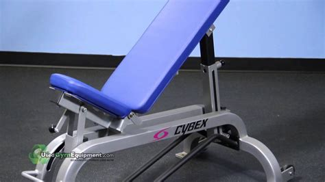 cybex utility bench for sale used refurbished cybex adjustable bench youtube