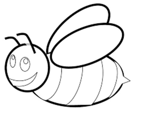 bee coloring pages preschool bee coloring pages for kids preschool and kindergarten