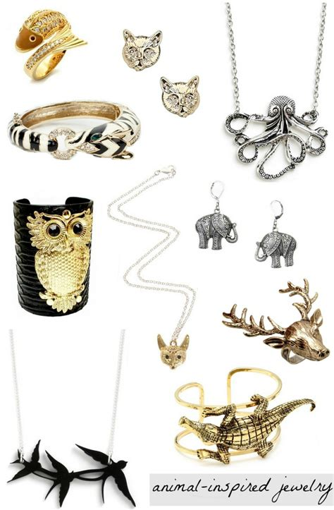 Fashion Smashion: Trend to Try: Animal Inspired Jewelry