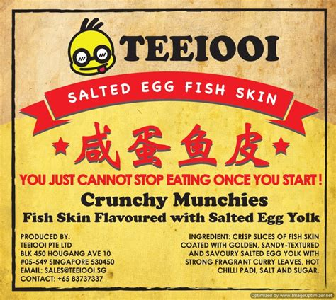 Sikki Salted Egg Fish Skin buy local delight teeiooi salted egg crispy fish skin 180g deals for only s 15 9 instead of s 15 9