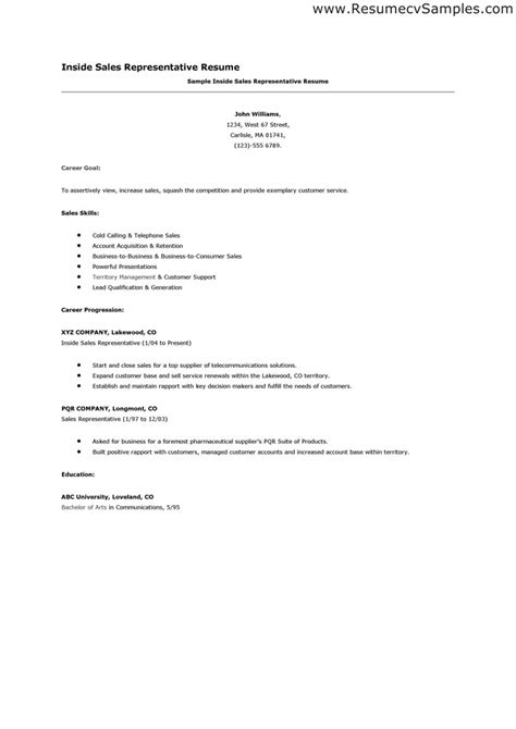 sample resume format medical representative 2