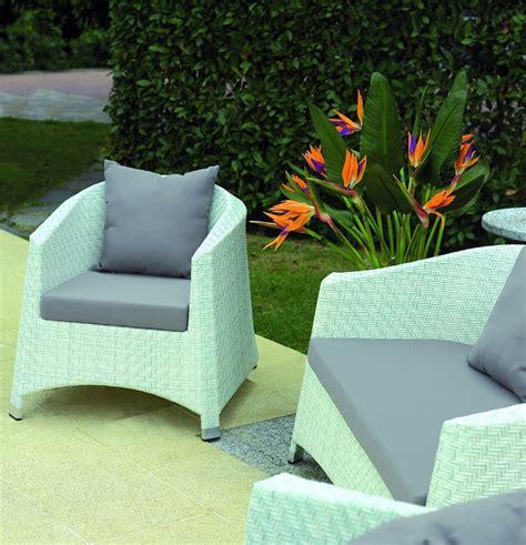 divanetti da giardino salottino rattan coffee set djerba divano 2 poltrone