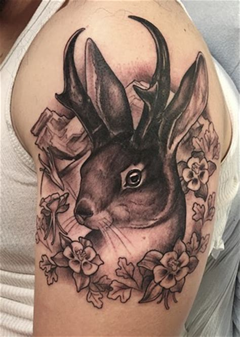 jackalope tattoo instagram shawn hebrank