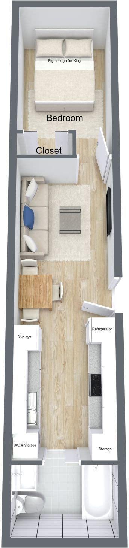 kleine schlafzimmer layouts 302 besten 1 bedroom apartment floor plan bilder auf