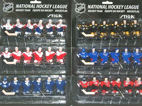 stiga table hockey teams the original 6 package stiga stanley cup hockey