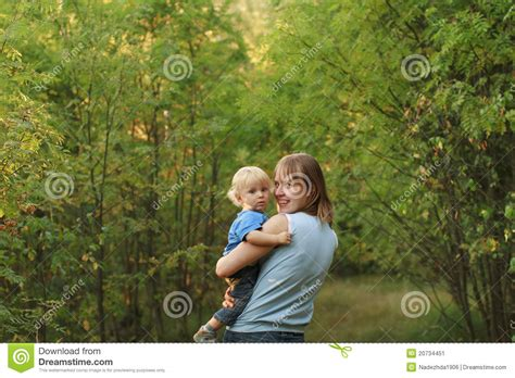Nature S Miracle Babies Baby With Walk In Nature Stock Image Image 20734451