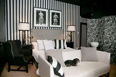 bedroom wallpaper stripes the modern sophisticate timeless black white stripes