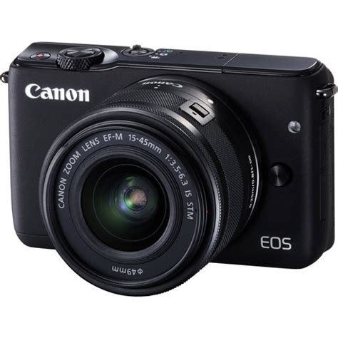 Canon Eos M10 Mirrorless Digital With 15 45mm Lens canon eos m10 mirrorless digital with 15 45mm lens b h
