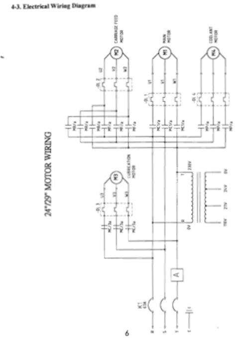 monarch lathe wiring diagram craftsman lathe wiring