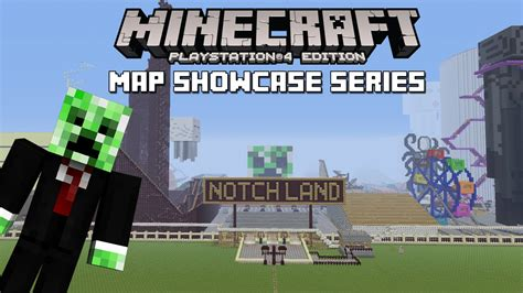 ps4 themes minecraft ps3 ps4 minecraft map showcase episode 111 notchland w