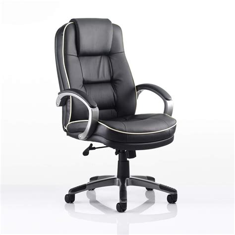 Leather Office Furniture Monterey Leather Office Chair Officesupermarket Co Uk