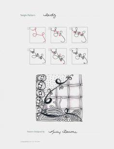 doodle budz ideas zentangle calendar for 2017 tangle a day practice