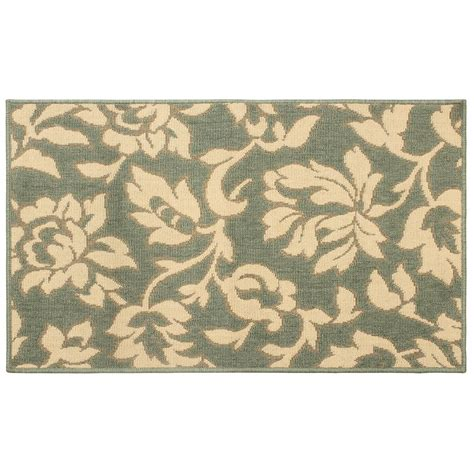 green accent rug laura ashley bennet ash green 11 ft x 8 ft indoor