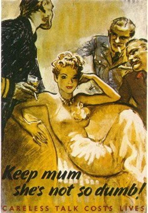 So Shes Not by Learn About Posters United Kingdom World War Ii