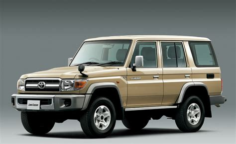 toyota land cruiser 70 production gets a reboot in japan