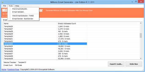 email generator download millions email generator lite edition 9 0 0 208