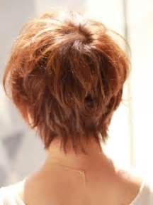 hairstyles around the at the back short hair styles back view bakuland women man