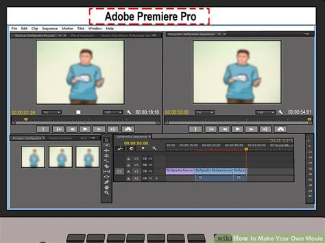 adobe premiere pro vs imovie how to make your own movie with pictures wikihow