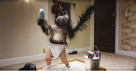 puppy monkey baby 2017 puppy monkey baby totally freaked out bowl viewers