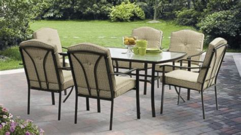 Patio Tables At Walmart Walmart Patio Dining Sets Patio Design Ideas