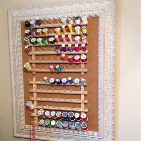 Embroidery Thread Rack by Thread Storage Sewing Embroidery