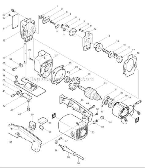 Jig Saw Makita Mod 4300bv makita 4300bv parts list and diagram ereplacementparts