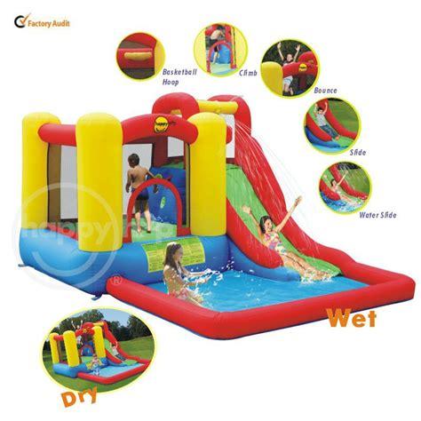 Quality Happy Hop Castle Bouncer 9112 happy hop amusement park water slide 9271