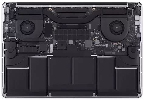 macbook pro cooling fan where is the fan located on the macbook pro quora