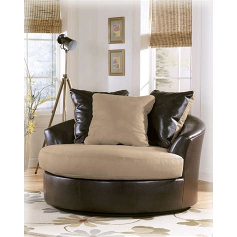 Valuable Ashley Furniture Swivel Chair Victory Chocolate Victory Oversized Swivel Chair