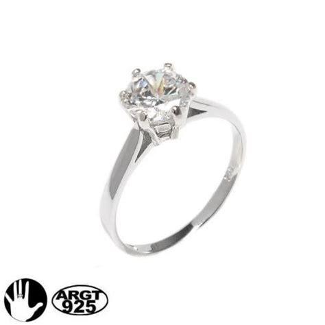 Verlobungsringe Gã Nstig by Geschenk F 252 R Freundin Zirkonia Solit 228 R Ring 925er Silber