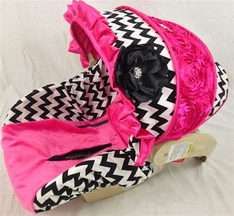 purple car seats for infants chevron infant car seat cover with bling and by