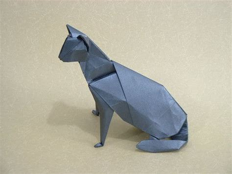 How To Make Complicated Origami - animal origami cat papercraftcentral net all about