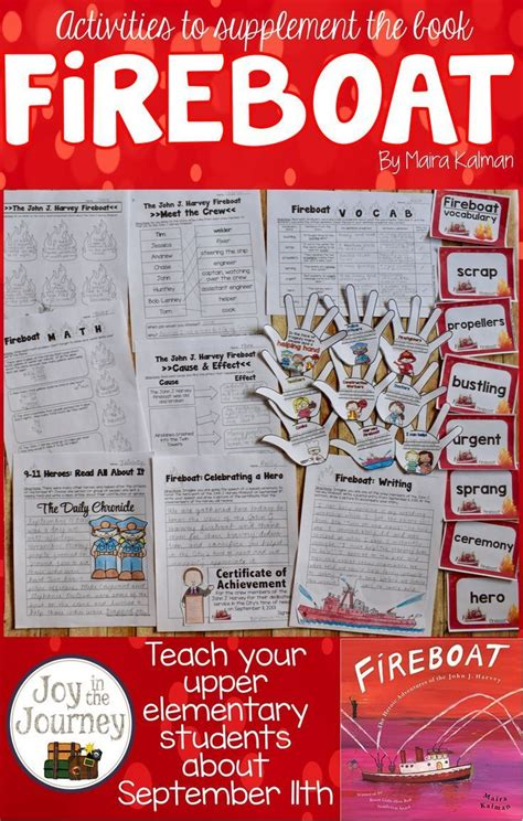 fireboat book activities 34 best joy in spring teaching ideas images on pinterest