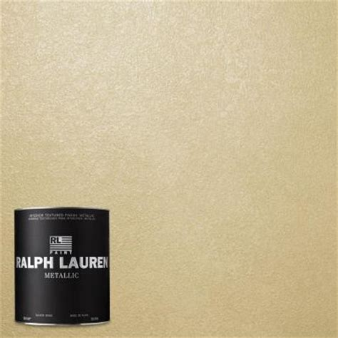 ralph lauren depot ralph 1 qt palladium silver metallic specialty finish interior paint me131 04 the home
