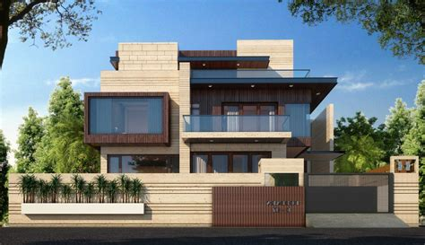 Wall Modern Design by Modern Boundary Wall Designs With Gate Walls Design For