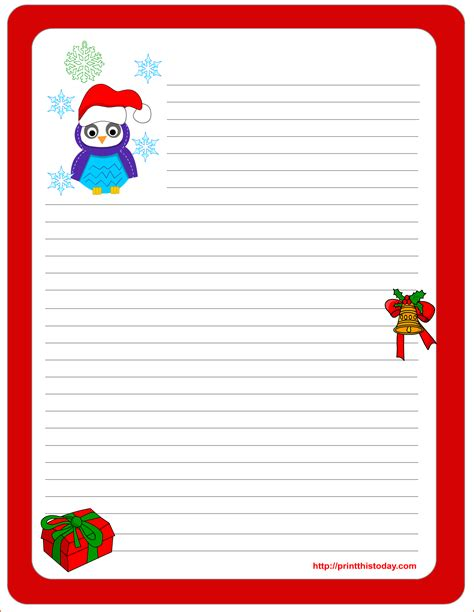 5 christmas list template free bookletemplate org
