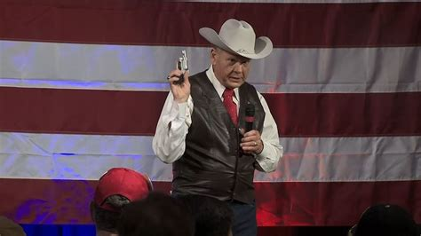 roy moore gun roy moore reported to police by tv viewer for pulling out