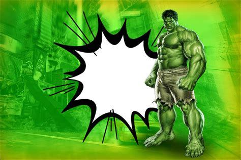 printable hulk banner hulk invitaciones para imprimir gratis ideas y
