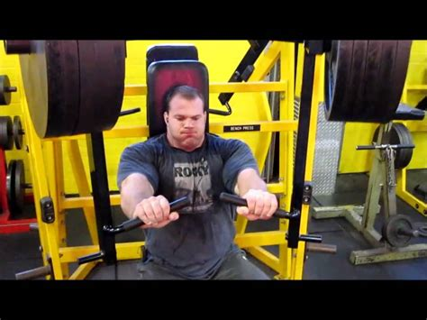 derek poundstone bench press derek poundstone trains chest and back doovi