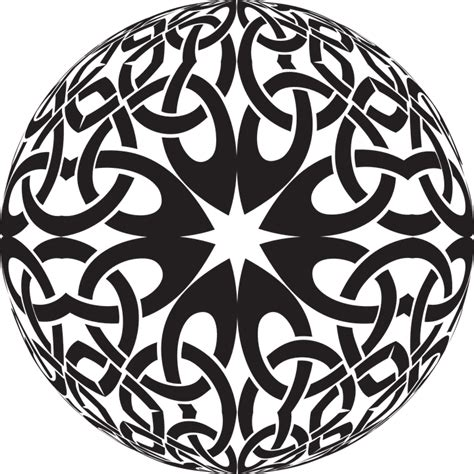 free vector graphic celtic knot design decorative